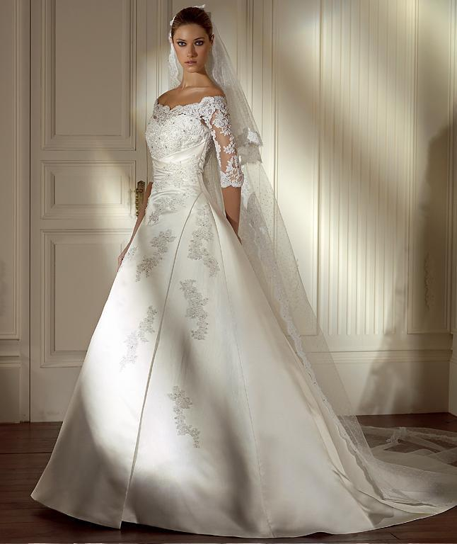 Wedding Gowns For   China : Gowns and bridal dresses with sleeves sleeve china
