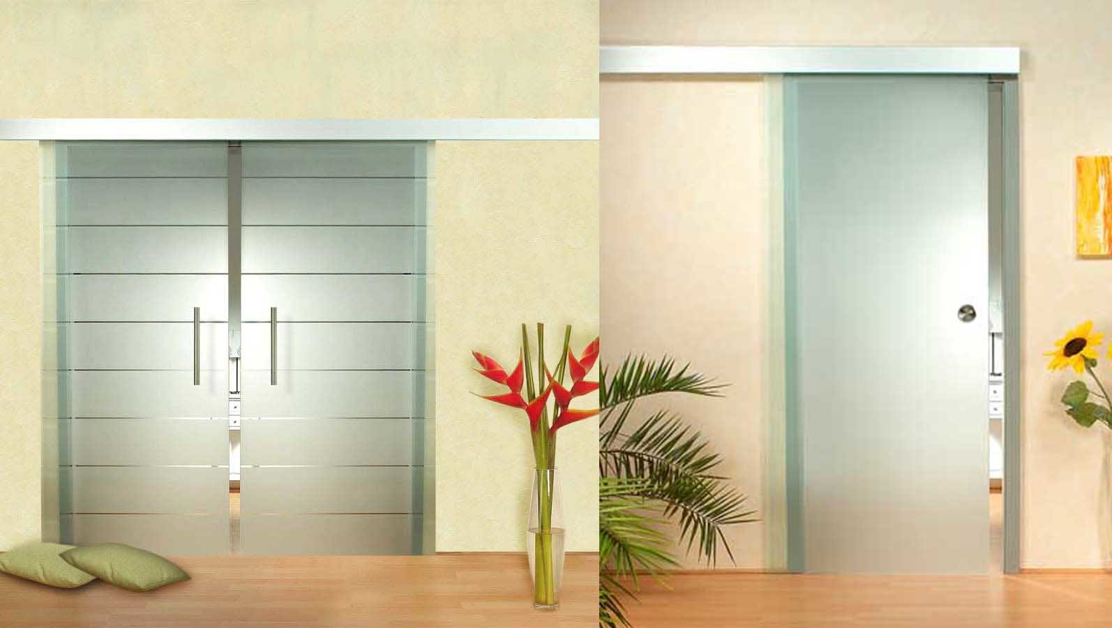 Uye home sliding glass internal doors for Glass sliding entrance doors