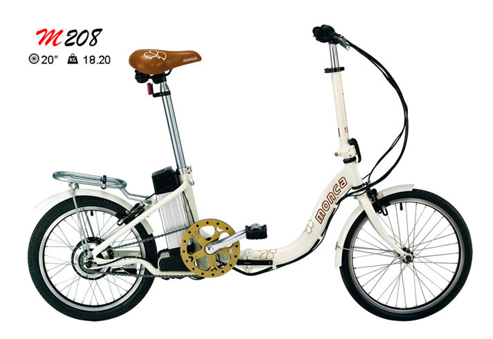 Popular Style City Folding Electric Bike Folded E Bicycle Foldable Scooter 20inch Tyres Kenda
