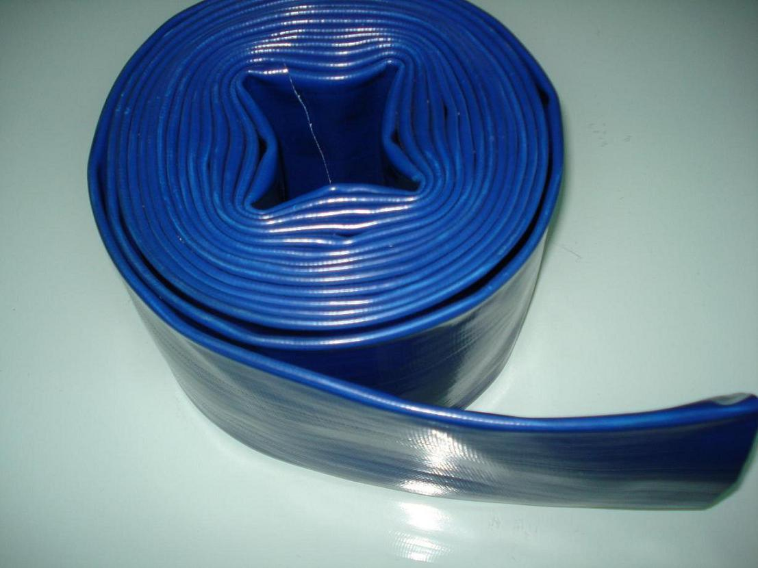 China pvc flexible tube hose lay flat