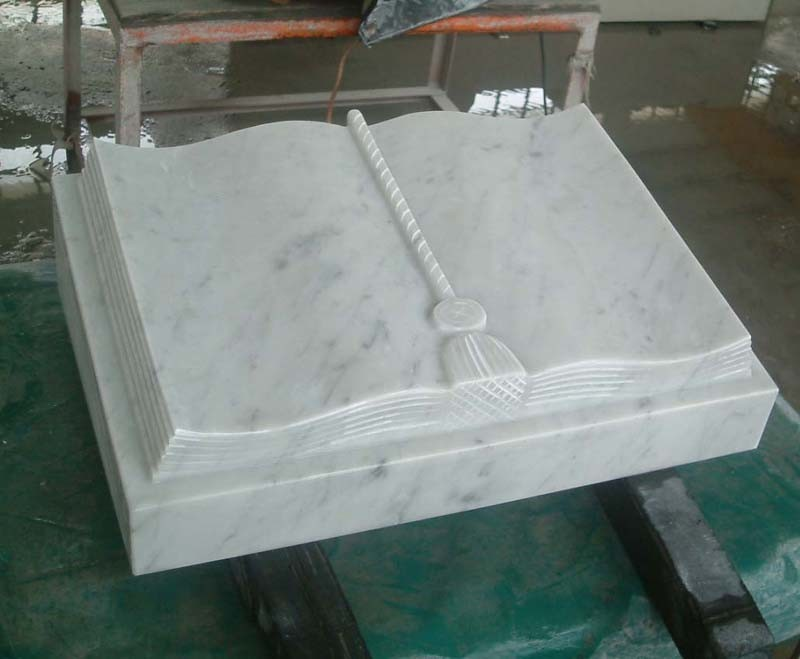 China Bianco Carrara Marble Book China Bianco Carrara