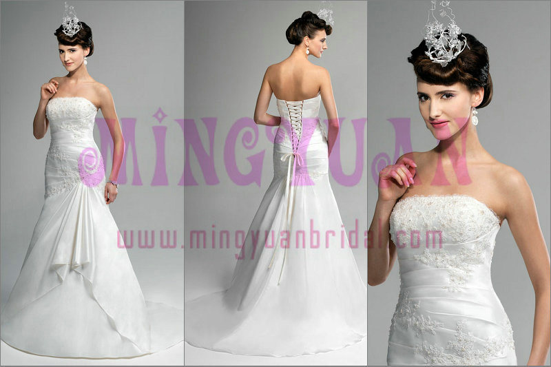 Vintage Wedding Gown EK435