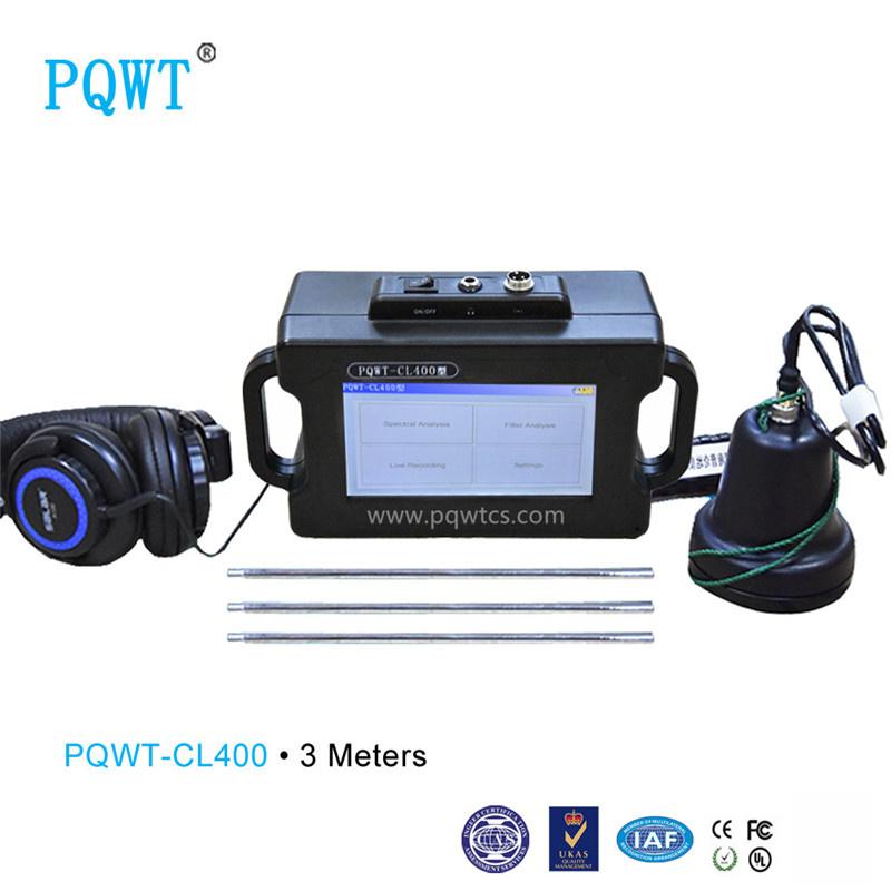 Pqwt-Cl400 Outdoor Buried 3m Underground Water Pipe Leak Detector