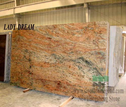 Lady Dream Granite : China granite slabs lady dream slab