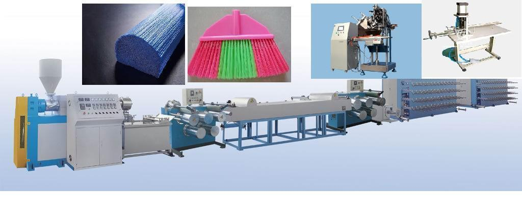 PP/Nylong/HDPE Monofilament Extruder Line