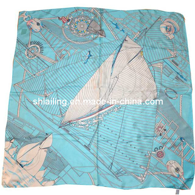 Silk Satin Fabric /Silk Satin Scarf Fabric /Silk Garments Fabric (SL9007A)