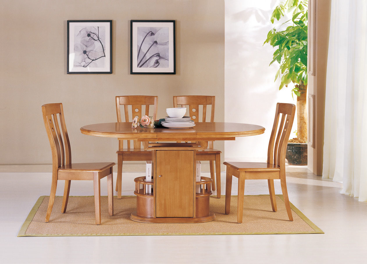 China Oval Wooden Dining Table Dining Room Furniture Dining Chair T C