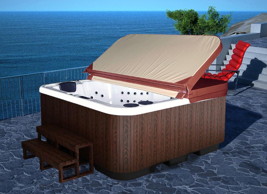 china outdoor spa whirlpool bathtub hot tub e 003. Black Bedroom Furniture Sets. Home Design Ideas