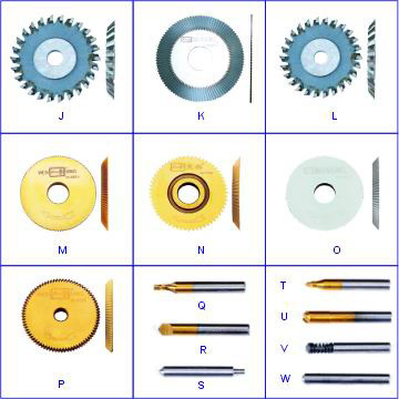 Spear Parts Guide Cutters for Key Machine