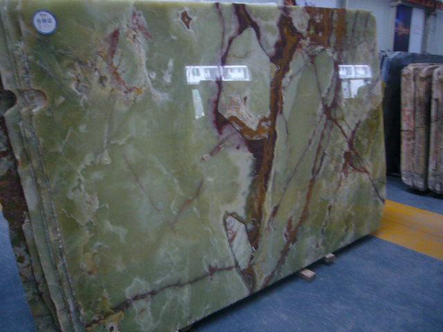 Green Onyx Stone Slabs : China green onyx marble slabs