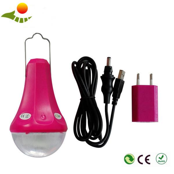 3W Portable LED Solar Bulb, Solar Mobile Power Supply