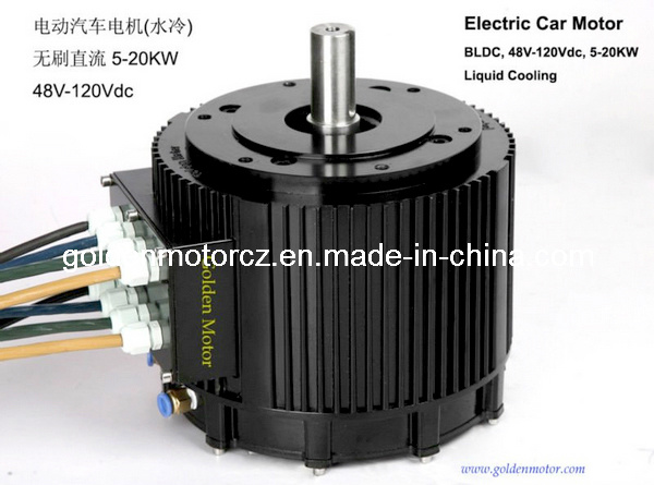 China 10kw Brushless Dc Electric Car Motor For Electric Cars