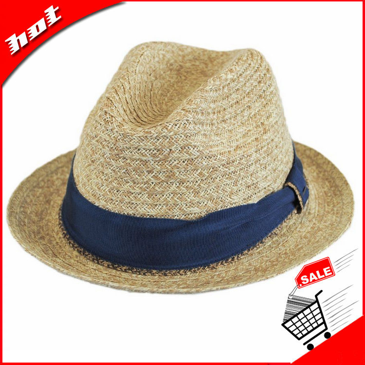 Ramie Cotton Fabric Hat Fedora Hat