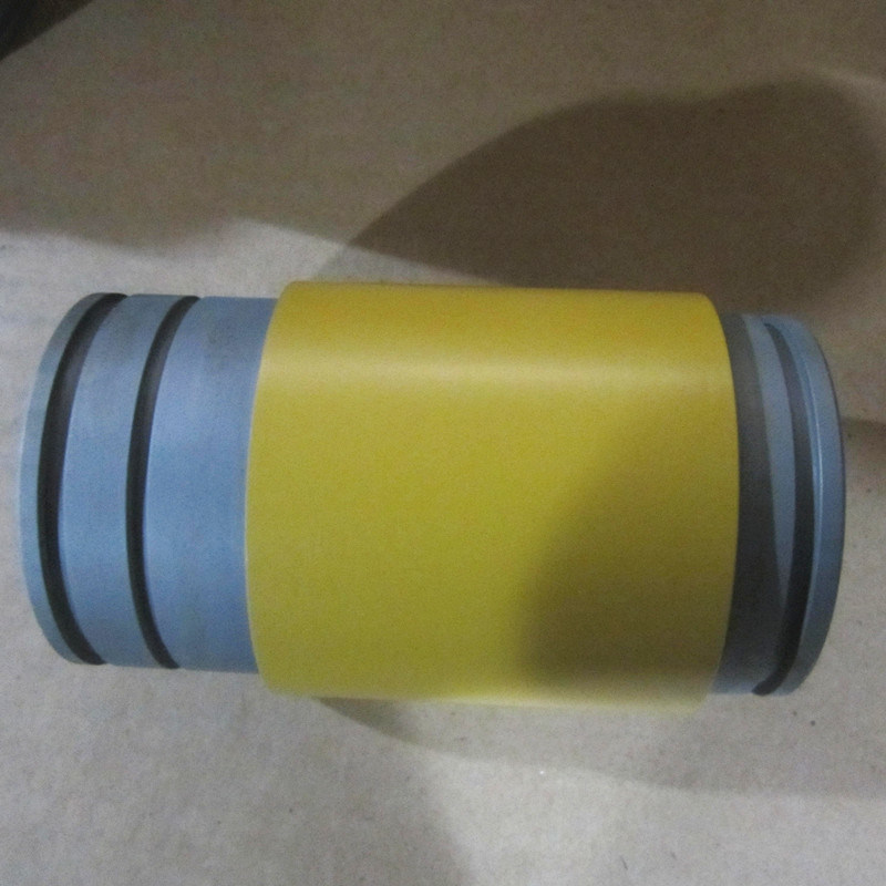 CNC Turning Machining Painted Parts for Heavy Machinery Shaft Roller
