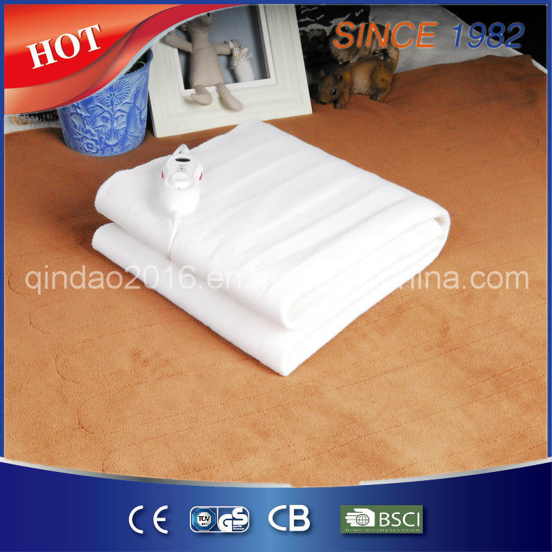 50/60W Pure Polyester Electric Under Blanket with Factory Price