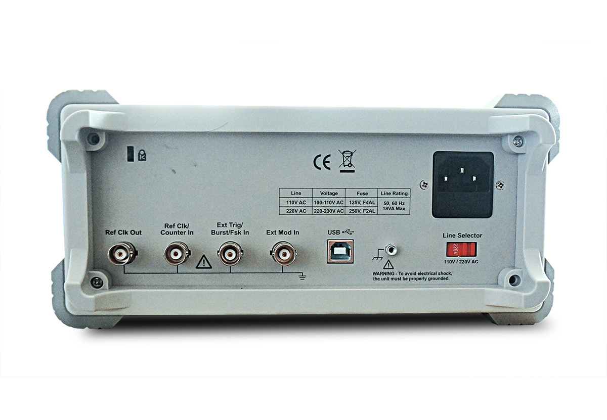 OWON 50MHz Dual-Channel Modulated Waveform Generator (AG2052F)