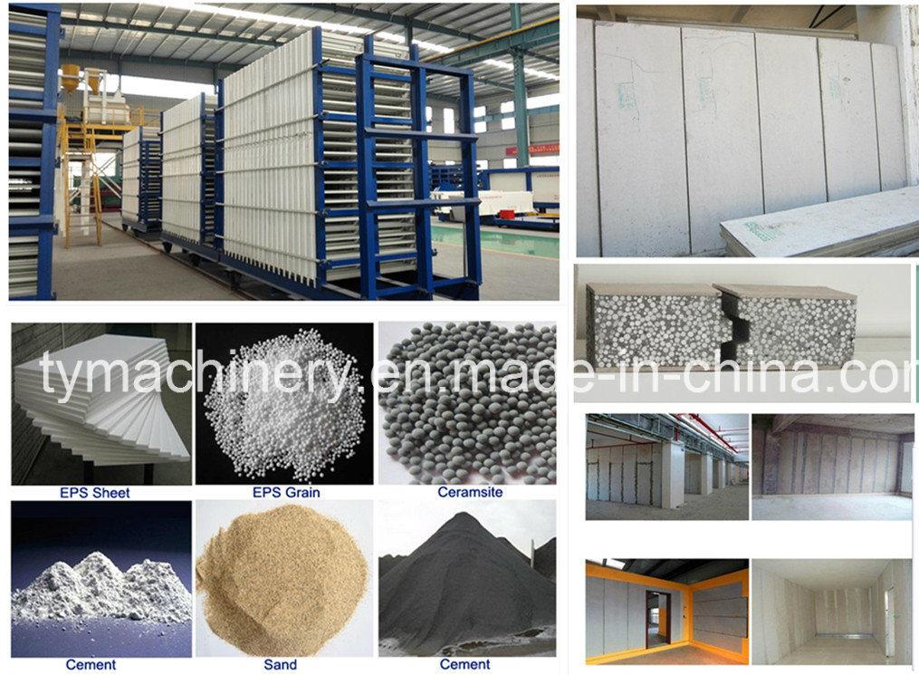EPS Cement Wall Panel Making Machine