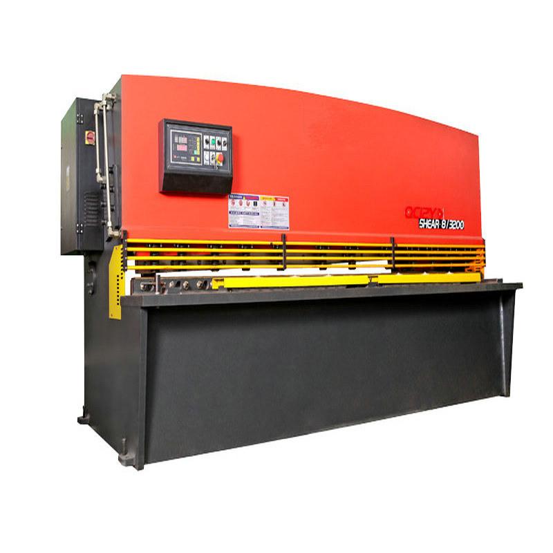 QC12k/Y 4*3200mm Hydraulic Swing Beam Shearing Machine