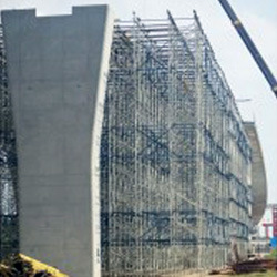 Shoring Tower Bro for Heavy Load Project