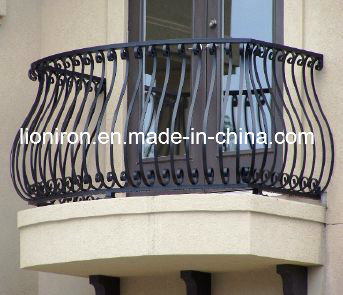 Artwork Wrought Iron Balcony Railing&Fence for Villa