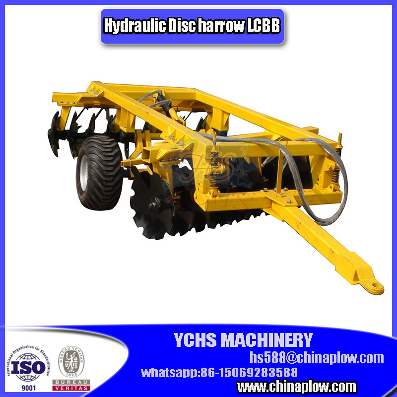 Trailed Hydraulic Type Disc Harrow for Ractor Machinery Yto Tractor