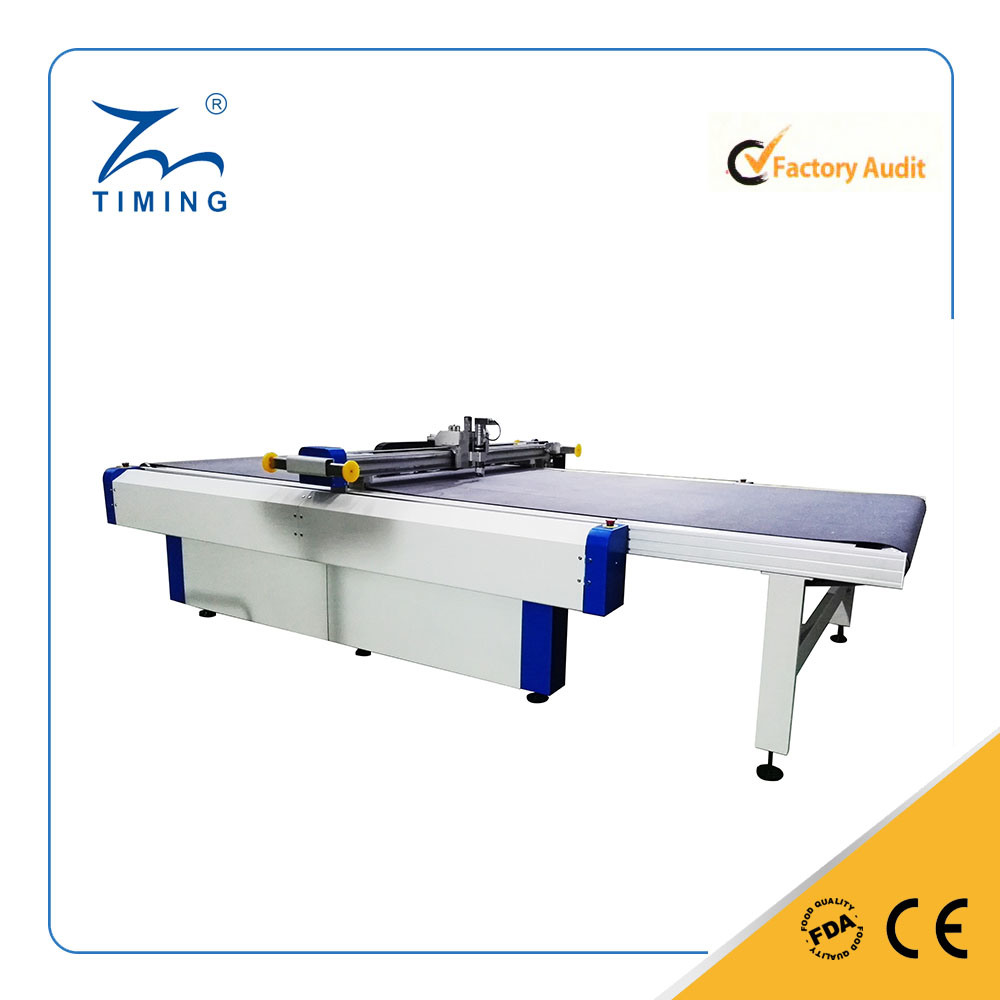 Ppopular Round Knife Cutting Machine for Glass Fabric/Glass Fabric with Iron Mesh