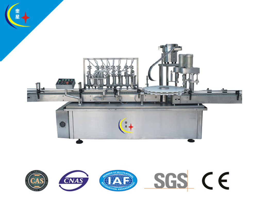 Automatic Liquid Filling Machine (YXT-YG8/2)