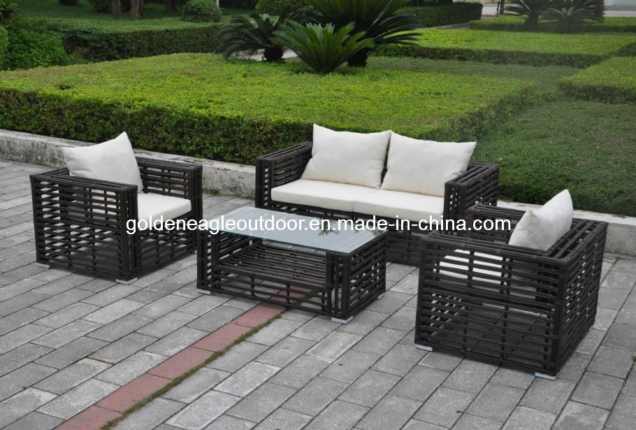 China 4 Seat Hot Design Outdoor Furniture Rattan