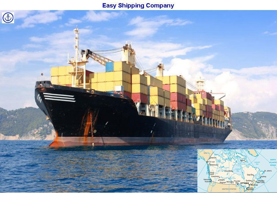 Consolidate Service From Shanghai to Canada Sea Shipping