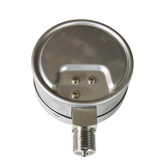 100mm Full Stainless Steel Bottom Type 6kpa Capsule Pressure Gauge