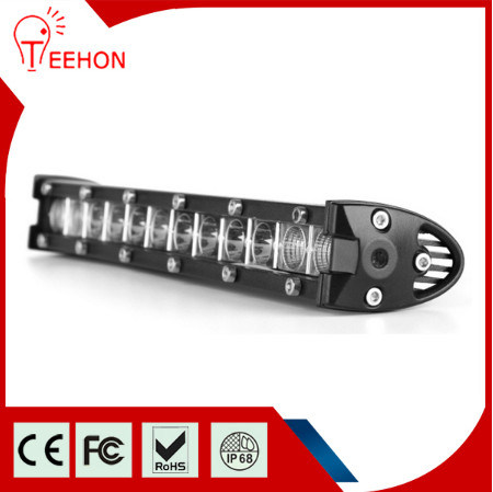 Super Slim Powerful 18W LED Light Bar with Adjustable Brackets