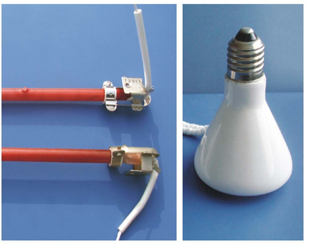 Electrical Infrared Heating Lamps