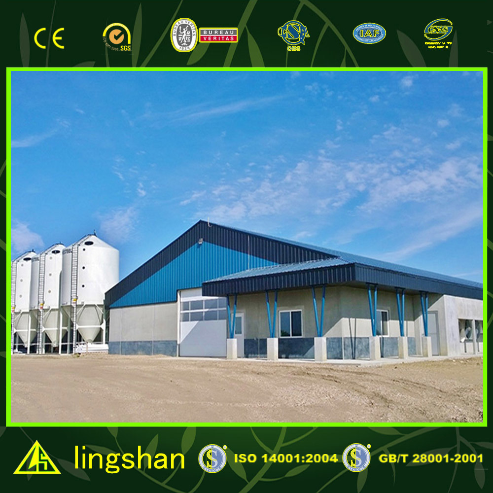 Prefabricated Modular Poultry House Chicken Farm