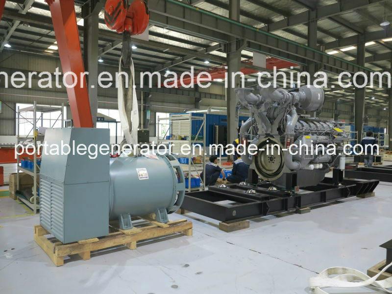 Synchronized Type Diesel Generator 1000kVA/800kw Powered by Perkins