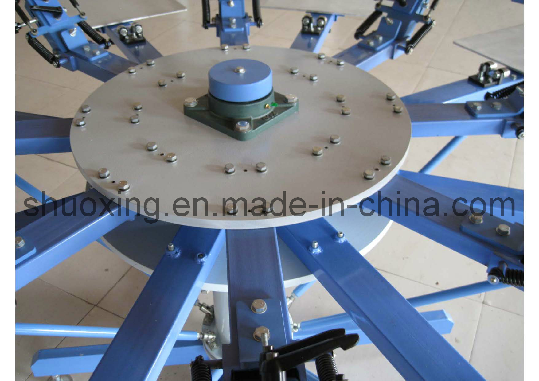 Manual T-Shirt Silk Screen Printing Machine (Side clamp system)