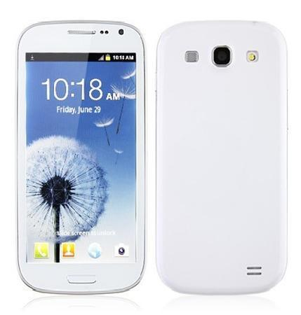 Android Dual SIM 4.8 Inch 3G Mobile Phone with Multi Touch Screen