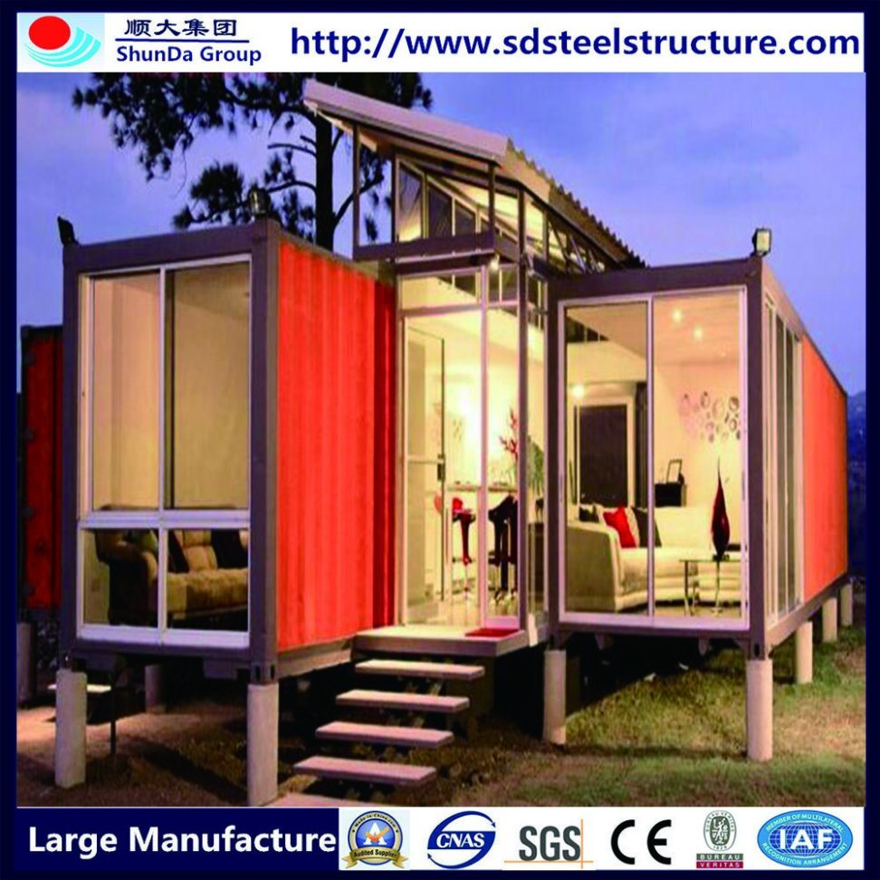 Modern Prefab Homes Villa Made of Sandwich Panel