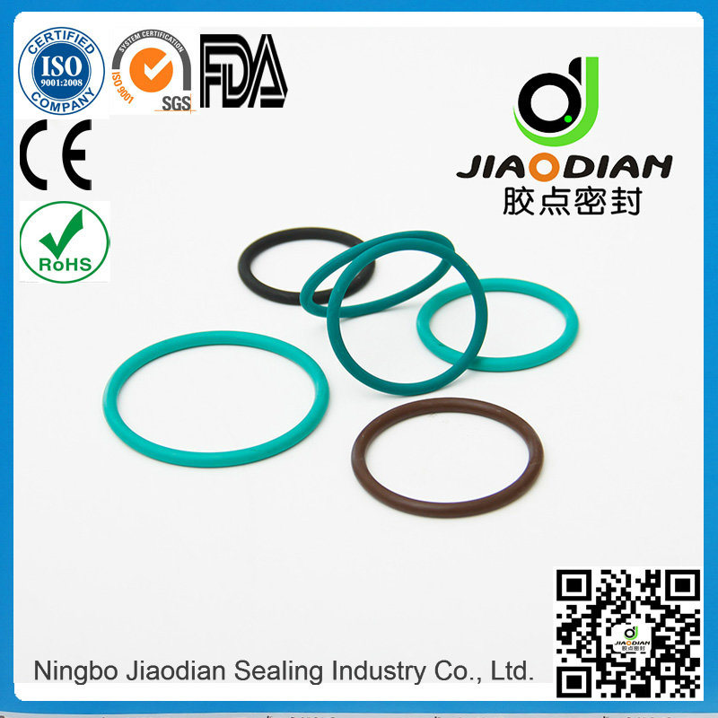 Viton O-Rings of Size Range as 568, JIS2401 on Short Lead Time with SGS CE RoHS FDA Cetified (O-RINGS-0094)