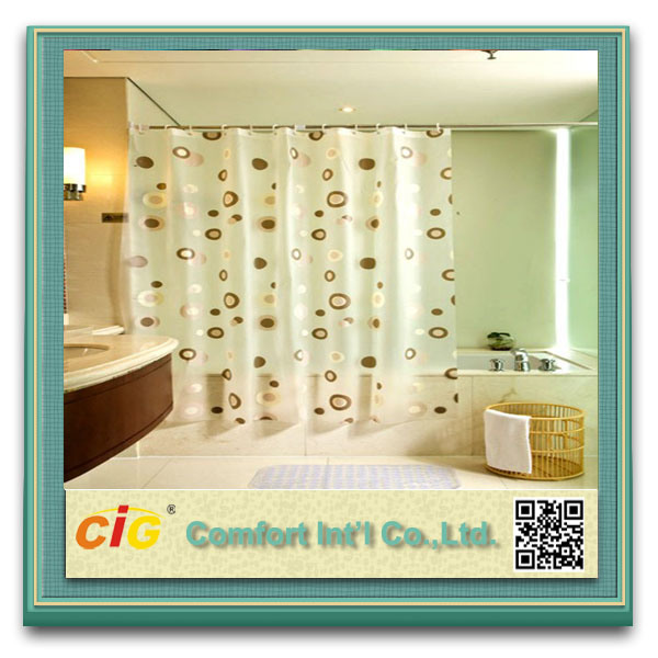 PVC Shower Curtain