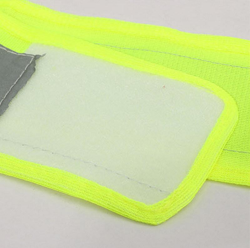 Thick V Shape Reflective Traffic Police Ride Clothes Safety Sanitation Construction Vest