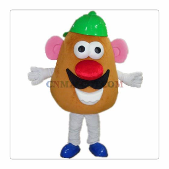 Mr Potato Head Cartoon Mascot Character Costume Good Quality
