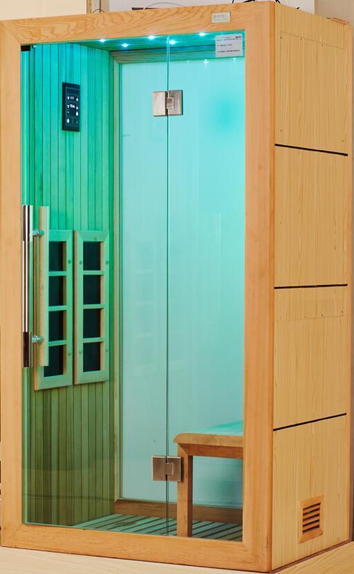 2016 New Bathroom Design Light Jade Far Infrared Sauna (I-013)