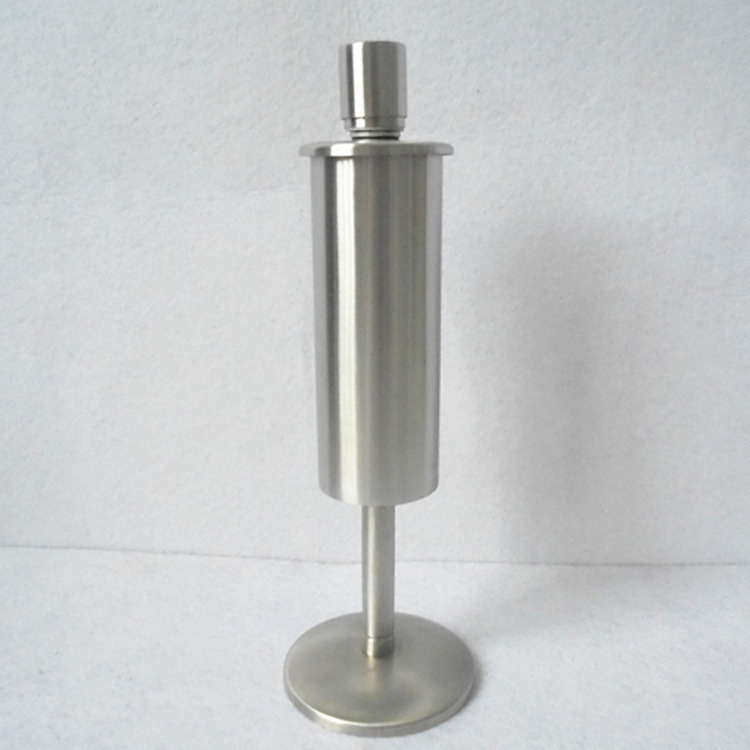 Two Curved Stainless Steel Outdoor Garden Oil Torch