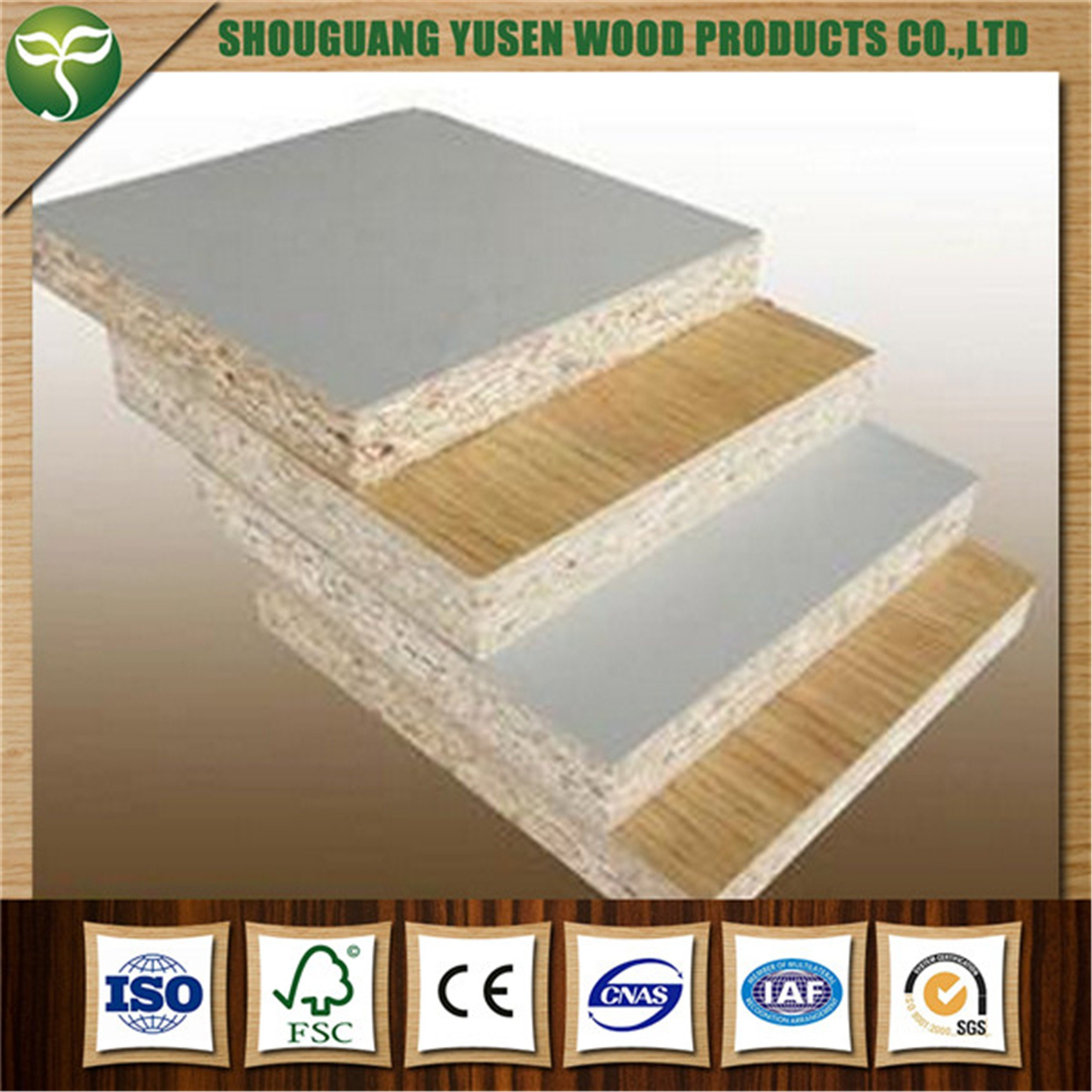 1830X2440 Melamine Faced Chipboard From China