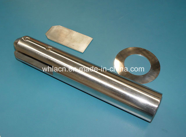 Balustrade Rail Frameless Stainless Steel Glass Clamp (CNC machining)