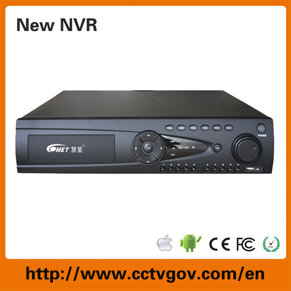 1080P NVR 8/16/24 Channel Onvif NVR with P2p Onvif CCTV System