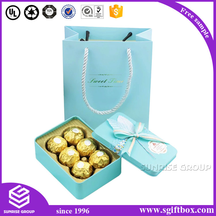 Gift Packaging Box Paper Bag Chocolate Packing Set