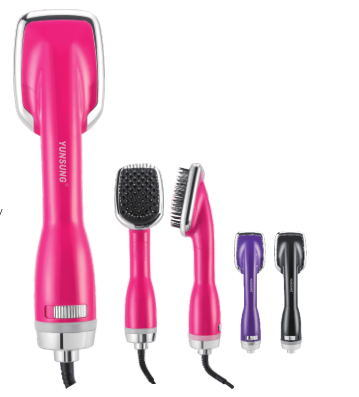 New Fasiz One-Step Hair Dryer and Styler with Straightener Brush
