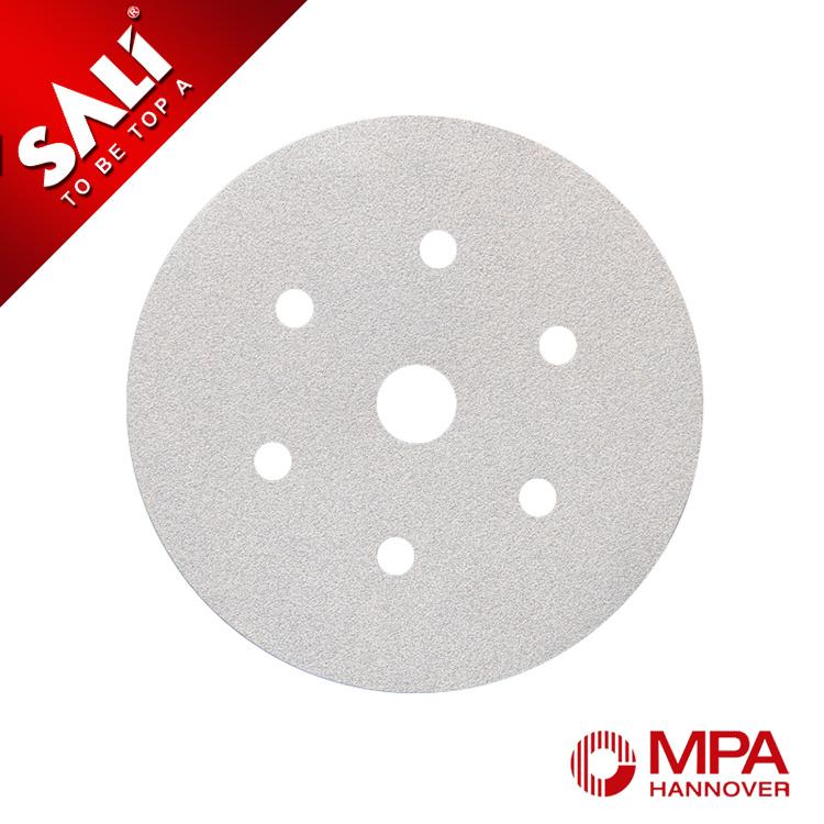 "7"" Premium Aluminum Oxide Hook & Loop Round Sanding Disc for Wood"