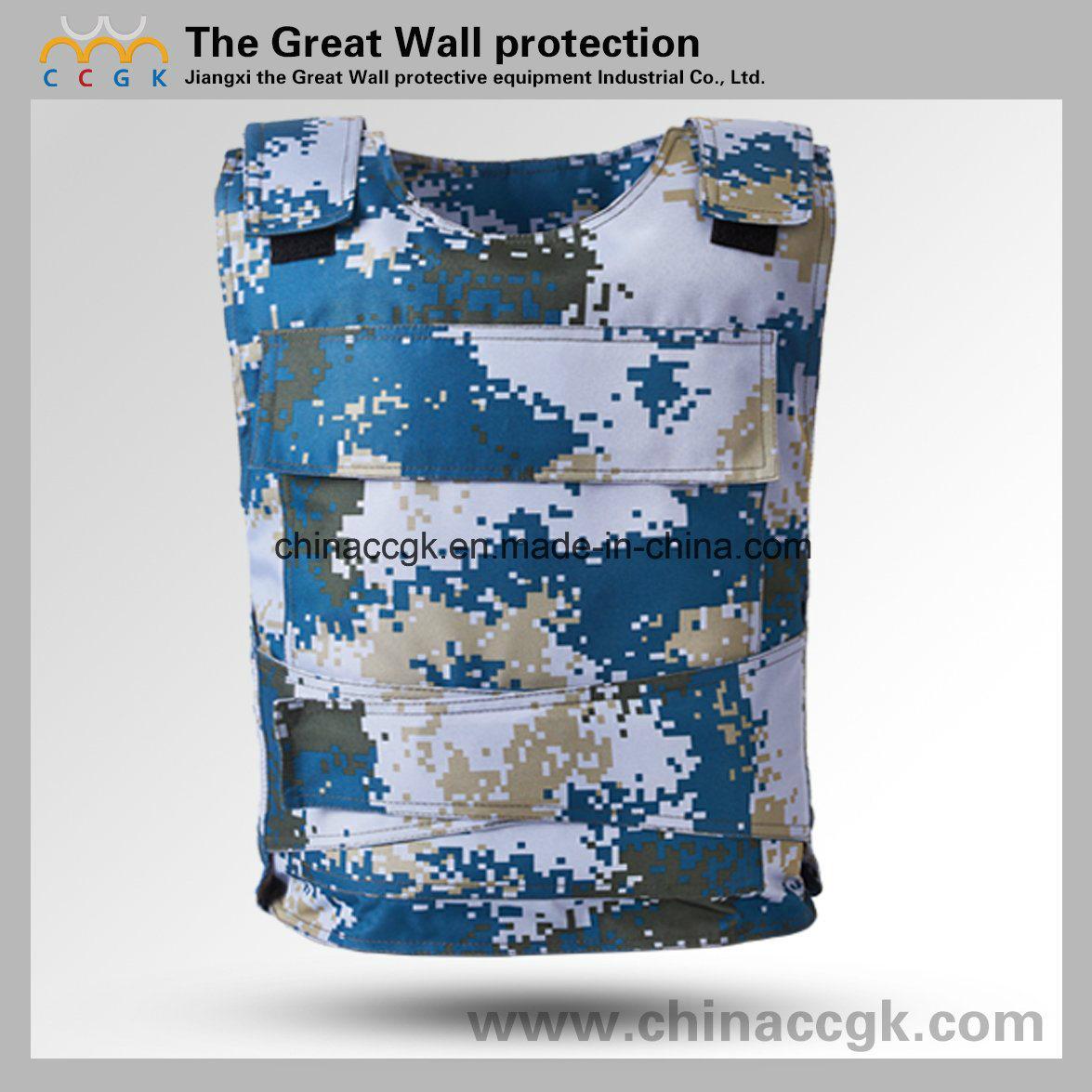 Kevlar / PE Nij III/ IV Oean Digital Camouflage Bulletproof Vest
